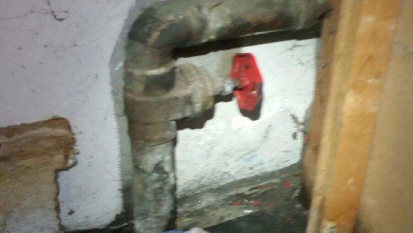 Replaced gate valve