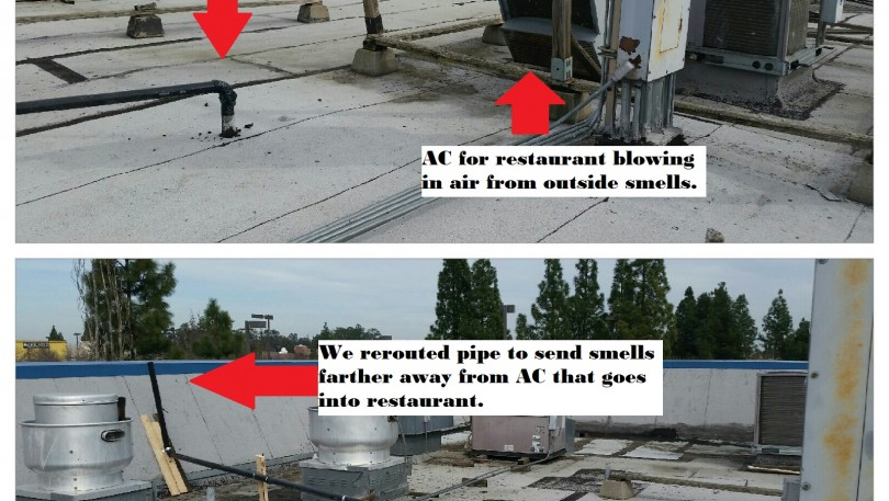 Local Restaurant Had Sewer Smell